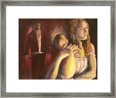 Framed Print featuring the painting Turning Point by Terri Thompson