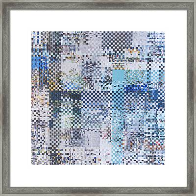 Framed Print featuring the mixed media Turning Tide by Jan Bickerton