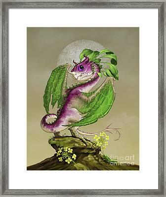 Turnip Dragon Framed Print