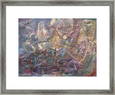 Turnmoil Framed Print by Rivka Waas