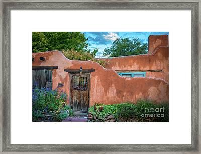 Turqoise Santa Fe Framed Print