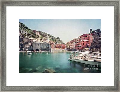 Turquoise Dreams Framed Print
