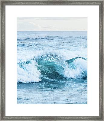Turquoise Formations Framed Print by Parker Cunningham
