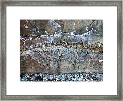 Turquoise Landscape Framed Print by Robert Knight
