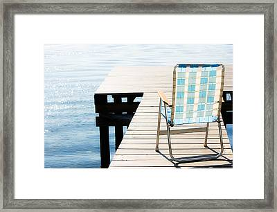 Turquoise Paradise Framed Print by Parker Cunningham