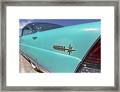 Turquoise Premiere Framed Print by Caitlyn  Grasso