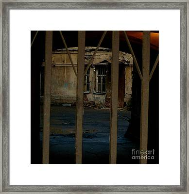 Framed Print featuring the photograph Turquoise by Robert D McBain