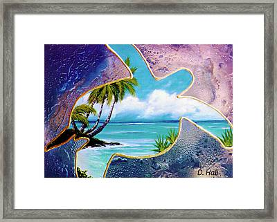 Turtle Bay #144 Framed Print by Donald k Hall
