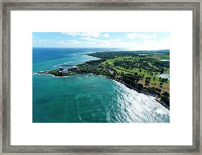 Turtle Bay Glow Framed Print