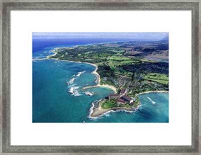 Turtle Bay - Looking East Framed Print by Sean Davey