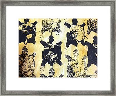 Turtle Clan Framed Print