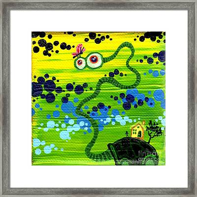 Turtle Guy Framed Print by Dan Keough