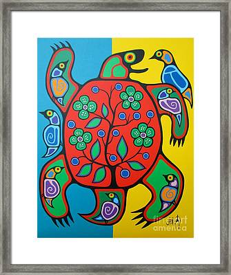 Turtle Framed Print