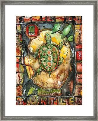 Turtle Framed Print by Patricia Allingham Carlson