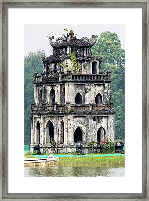 Turtle Tower Framed Print