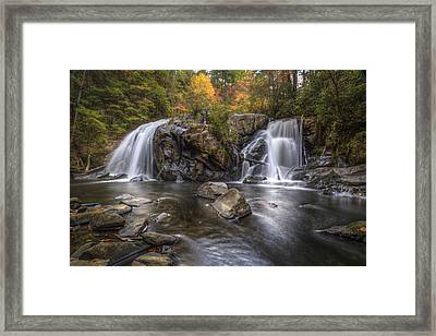 Turtletown Falls Framed Print