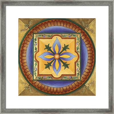 Tuscan Autumn Framed Print by Charlotte Backman