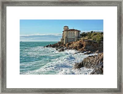 Tuscan Castle Framed Print by Joachim G Pinkawa