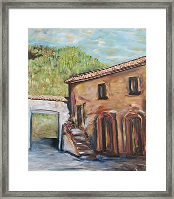 Tuscan Convent Framed Print
