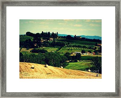 Tuscan Country Framed Print