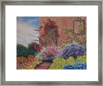 Tuscan Delusions Framed Print