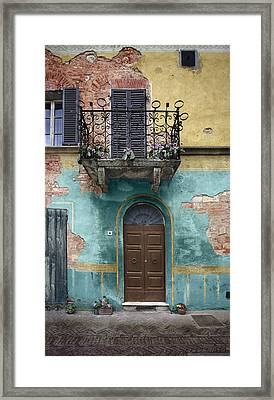 Tuscan Entrance 5 Framed Print by Al Hurley