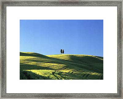 Tuscan Evening Framed Print by Michael Hudson
