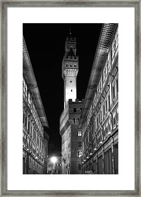 Tuscan Lights - 1 Of 3 Framed Print by Alan Todd