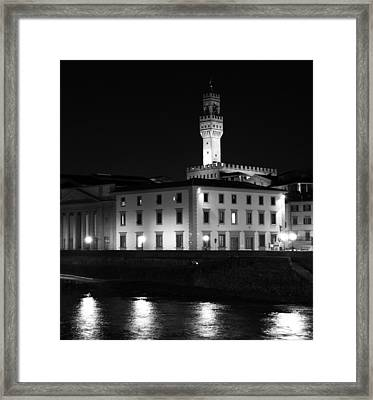 Tuscan Lights - 2 Of 3 Framed Print by Alan Todd