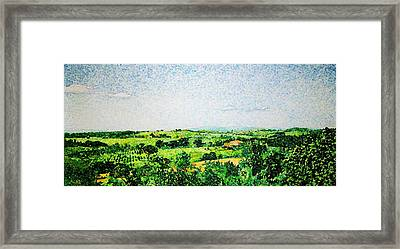 Tuscan Long View Framed Print by Jason Charles Allen
