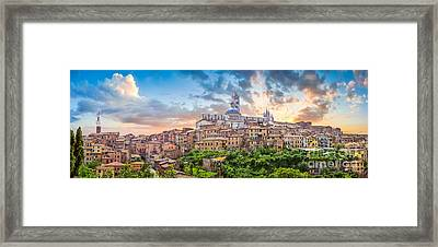 Tuscan Romance  Framed Print by JR Photography