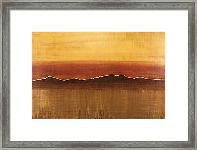 Tuscan Sun Framed Print by Justin  Strom