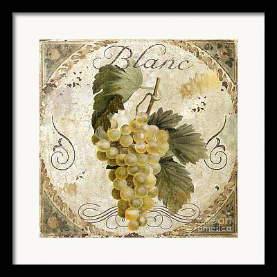 Painted Grapes Framed Prints