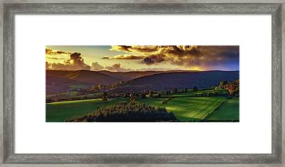 Tuscan Touch Framed Print by Richard Sayer