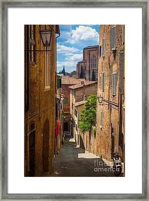 Tuscan Town Framed Print