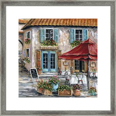Tuscan Trattoria Square Framed Print
