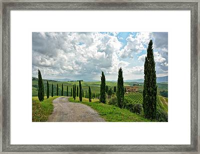 Tuscan Winery 2 Framed Print