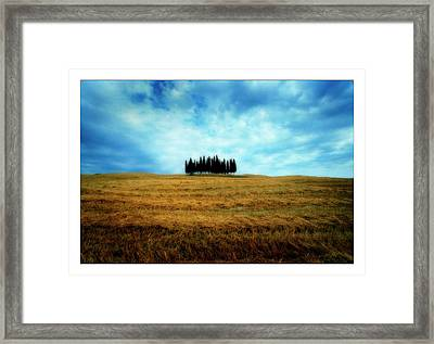 Tuscany - Italy Framed Print by Marco Hietberg