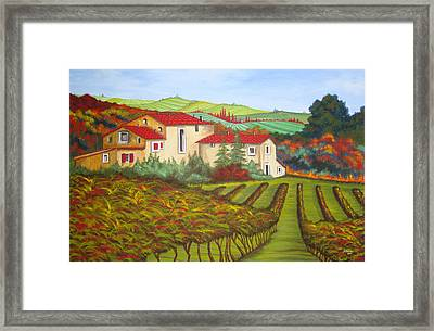 Tuscany Framed Print by Amanda Schambon