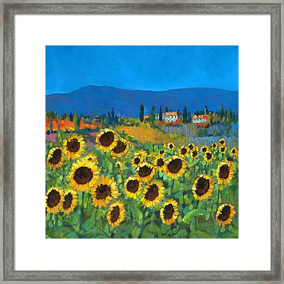 Tuscany Framed Print by Chris Mc Morrow