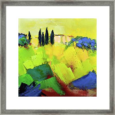 Tuscany Colors Framed Print