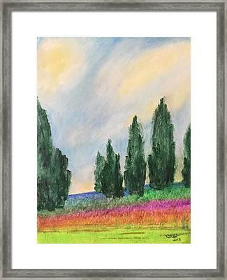 Tuscany Dream Framed Print