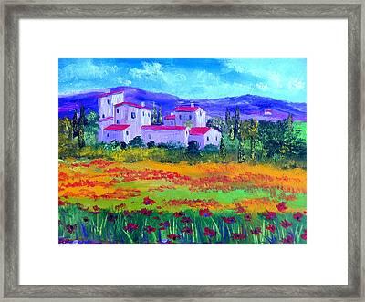 Tuscany Framed Print by Inna Montano
