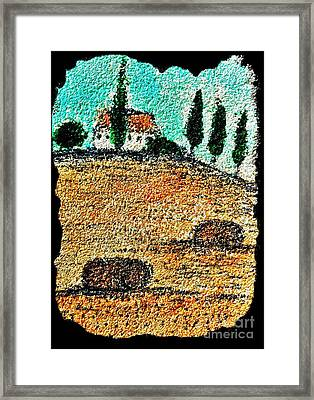 Tuscany  Framed Print by Jasna Gopic