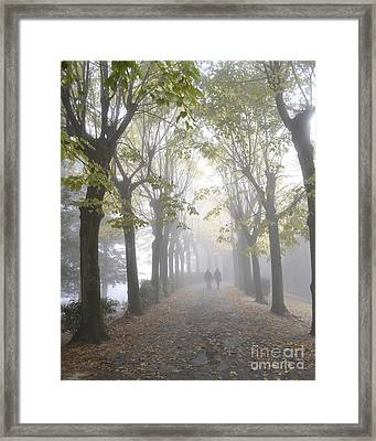 Tuscany Love Framed Print