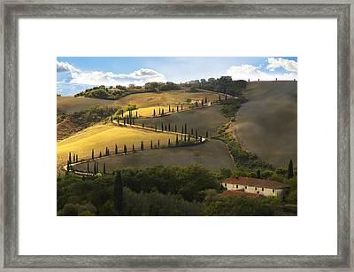 Tuscany Morning Framed Print by Nicole Daniah Sidonie