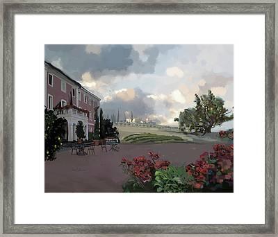Tuscany Villa Framed Print by Brad Burns