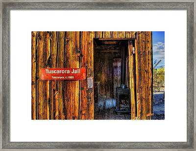 Tuscarora Jail Framed Print by Stephen Campbell