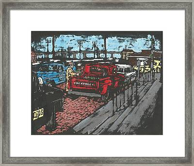 Tuscola Illinois Framed Print by Dick Gallagher