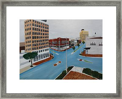 Tushka Lusa Framed Print by Tammy Dunn
